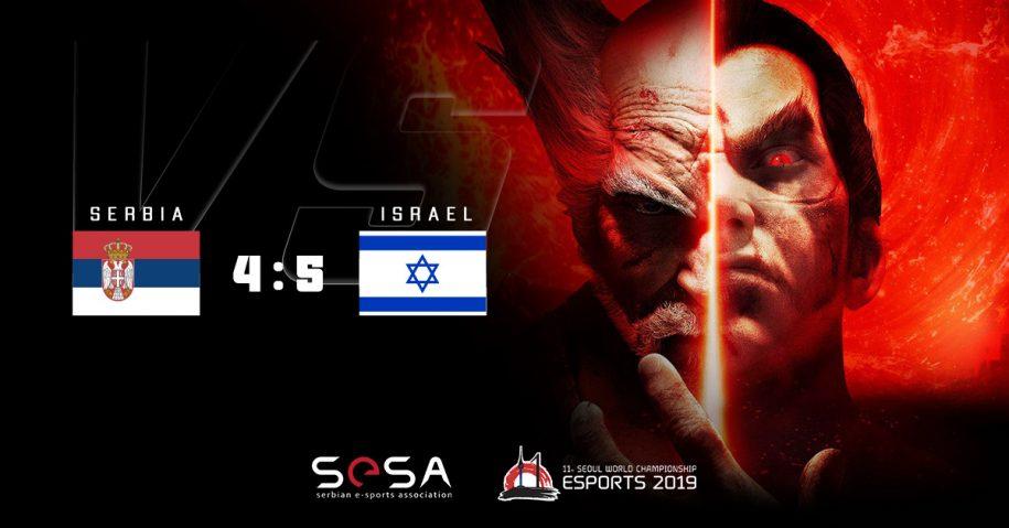 Prijateljski mečevi u Tekkenu sa Izraelom i Rusijom
