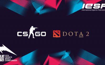 Dota 2 i CS:GO će se igrati na 13. svetskom esports šampionatu